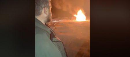 """Лидер """"евробляхеров"""" в знак протеста принятому закону сжег свой Range Rover (ВИДЕО)"""