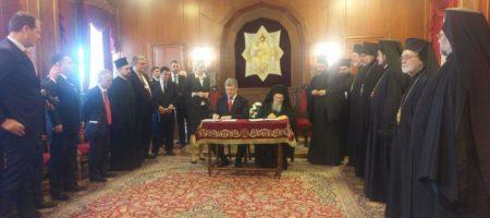 Порошенко подписал договор с Варфоломеем! Официально создана независимая украинская церковь