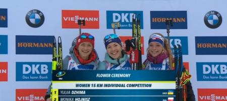 БРАВО! Юлия Джима выиграла первую гонку сезона в женском биатлоне