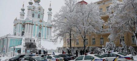 Объединительный собор: в центр Киева продолжают стягивать большие силы полиции