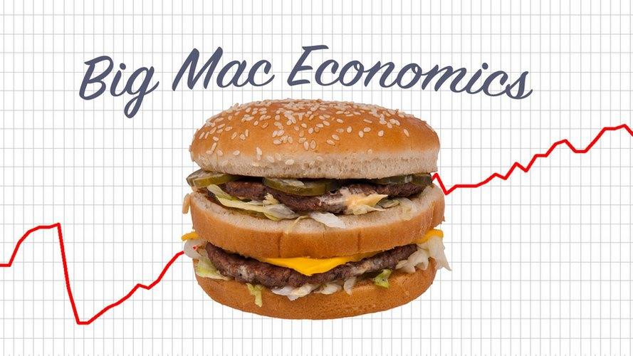 Согласно индексу Биг-Мака курс доллара в Украине должен составлять 9,7 гривен