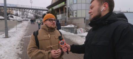Зеленский идет в президенты: мнение киевлян по этому поводу (ВИДЕО)