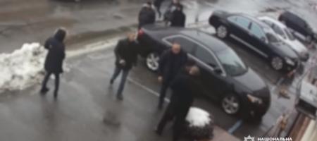 В интернете появились кадры избиения Дзидзьо в Киеве (ВИДЕО)