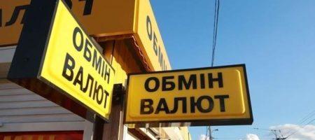 В украинских обменниках продолжает падать курс доллара