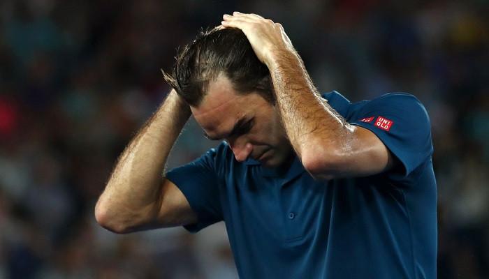 Федерер на раннем этапе покинул Australian Open