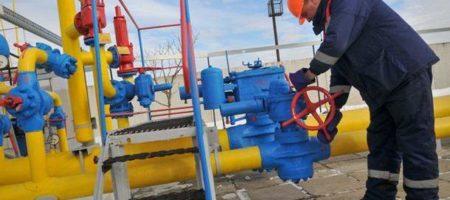 Украиснкие хранилища газа заполнены на 35 процентов
