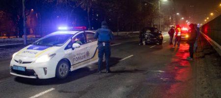 В Киеве водитель после ДТП водитель хотел изнасиловать полицейских (ВИДЕО)