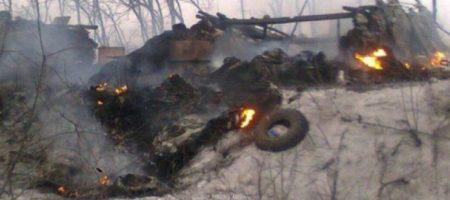 ВСУ удалось уничтожить автомобиль с террористами