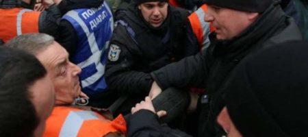 Протесты железнодорожников под Укрзализницей переросли в столкновения