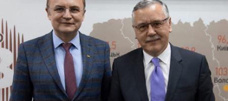 Официально Садовой снял свою кандидатуру в пользу Гриценко