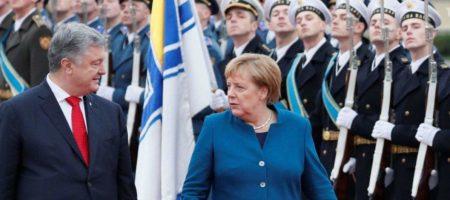ВЫБОРЫ 2019: Меркель поздравила Порошенко с выходом во второй тур