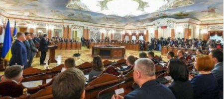 При участии Порошенка состоялся запуск Высшего антикоррупционного суда Украины