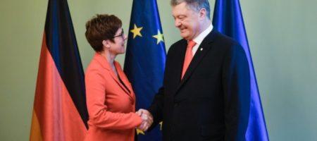 Порошенко встретился с правительством Германии и обсудил ситуацию на оккупированных Россией территориях