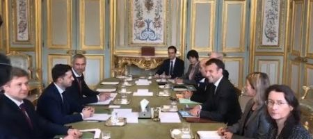 Зеленский рассказал о встрече с Макроном и что обсуждали на встрече (ВИДЕО)