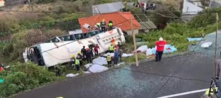 Страшное ДТП в Португалии с немецкими туристами. Автобус слетел с дороги, десятки погибших (КАДРЫ)
