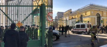 Мощнейший взрыв сотряс военную академию в Санкт-Петербурге. Множество пострадавших (КАДРЫ)