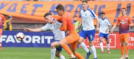УПЛ: Динамо благодаря голу Цыганкова обыграло Мариуполь на выезде (ВИДЕО)