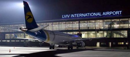 Львовский аэропорт почти вдвое сумел вырастить пассажиропоток