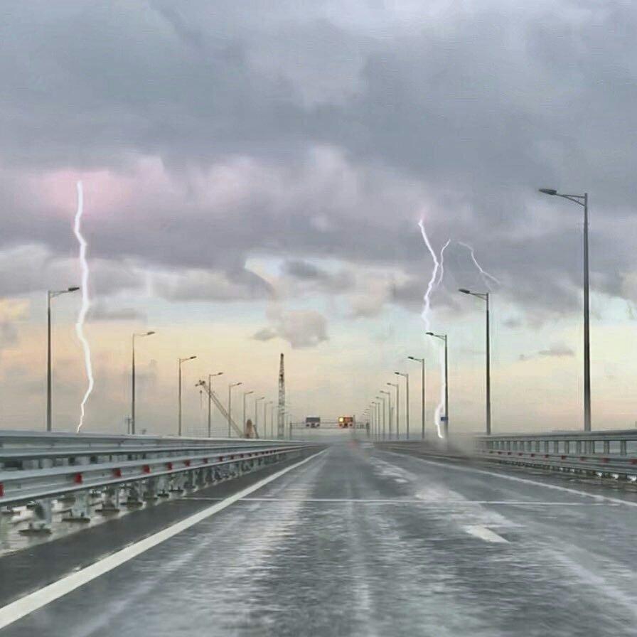 Стихия скоро разрушит Керченский мост! Эксперт объяснил, почему крымскому мосту осталось немного