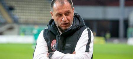 Вернидуб покинул пост главного тренера Зари