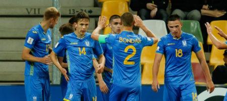 Стал известен соперник сборной Украины U-20 в 1/8 финала