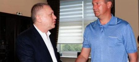 Игорь Суркис провел встречу с Хацкевичем, но к согласию не пришли