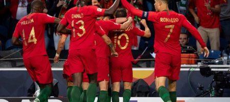 Сборная Португалии обыграла Голландию, и стала обладателем Лиги Наций