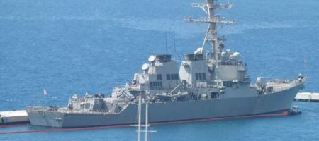 Американские эсминцы в Черном море вызвали панику у русских