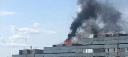 Мощный взрыв раздался у здания луганской мэрии (ВИДЕО)