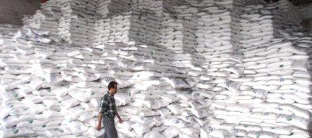 Экспорт сахара из Украины сокращен на четверть
