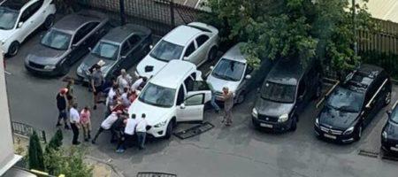 Виновницей ДТП в Виннице в результате которого Mazda придавила ребенка с матерью, оказалась теща Притулы и Хомутынника (ВИДЕО)