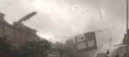 Разрушительное торнадо пронеслось над Люксембургом - множество жертв (ВИДЕО)
