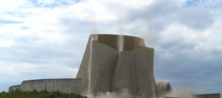 Германия на ушах: на АЭС из-за взрыва рухнула башня (ВИДЕО)