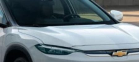 В сети появились первые кадры электрического кроссовера Chevrolet Menlo