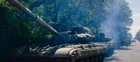 В ОБСЕ заявили, что российские боевики стягивают танки и артиллерию