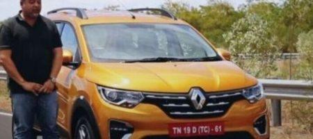 Renault презентовала новенький кроссовер Triber за $7 тысяч (ВИДЕО)