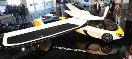В Словакии собираются провести испытания новой модели летающего автомобиля (ВИДЕО)
