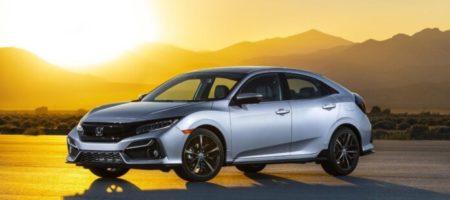 Honda презентовала обществу обновлённый хэтчбек Civic