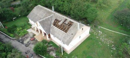 Разрушительный шторм пронесся под Ровно (ВИДЕО)