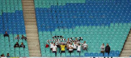 Фанаты луганской Зари подрались с фанатами болгарского ЦСКА перед матчем Лиги Европы