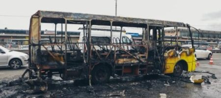 В Киеве взорвалась маршрутка - подробности от полиции и спасателей