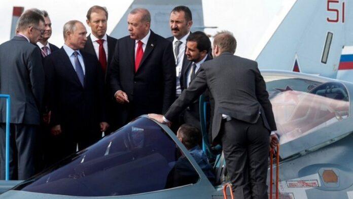 Путин похваставшись перед Эрдоганом боевыми самолетами нарвался на насмешки