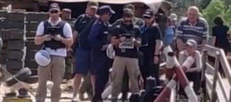 """Наблюдатели миссии ОБСЕ слили боевикам """"ЛНР"""" секретную информацию КАДРЫ"""