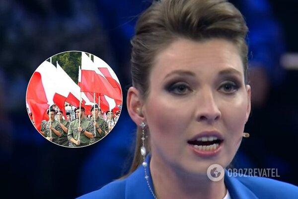 Разъяренная Скабеева с матами и пеной из-зо рта за отказ Польши Путину