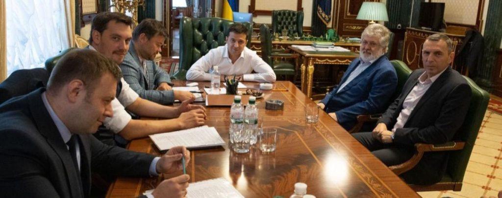 Стали известны детали переговоров Зеленского с Коломойским