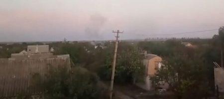 В сети появилось видео как российские боевики обстреливают мирные кварталы сводного города на Донбассе