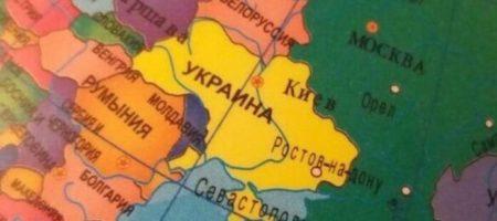 """На России продают глобусы с """"украинским"""" Ростовом и Крымом"""