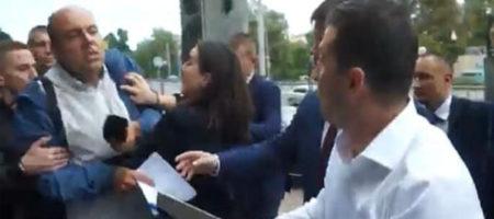 Пресс-секретарь Зеленского - Мендель прокомментировала свою стычку с журналистом
