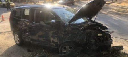 В Харькове произошло тройное ДТП: среди пострадавших есть дети