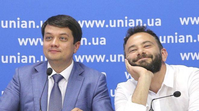Скандальный нардеп Дубинский устроил скандал с Разумковым и предложил переименовать партию